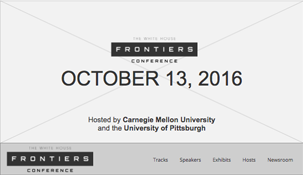 The White House Frontiers Conference 2016